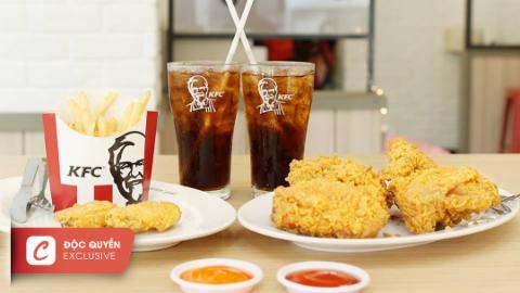 KFC - vị ngon trên từng ngón tay